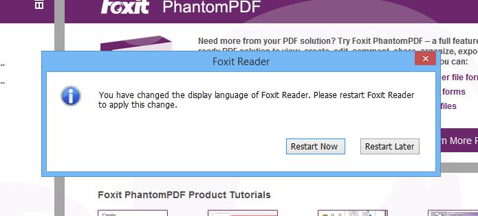 Reinicie o aplicativo para trocar o idioma (Foto: Reprodução/Helito Bijora)