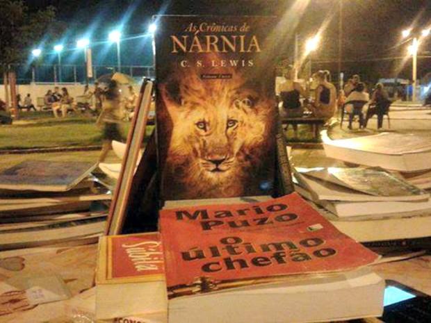 Mais de 200 livros estarão a venda (Foto: Daniel Amorim] Arquivo Pessoal)