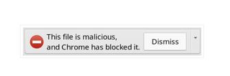 Alerta de malware no Google Chrome (Foto: Divulgação/Google)