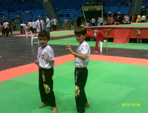 Atletas Kung Fu Araxá  (Foto: Bruno Márcio/Arquivo Pessoal )