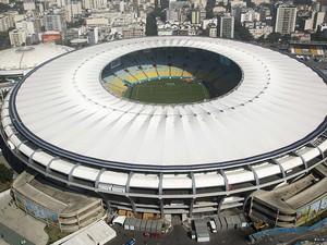 O estádio Jornalista Mário Filho foi inaugurado em 1950 para a disputa da Copa do Mundo. O Maracanã recebeu oito jogos desta Copa, inclusive a final vencida pelos uruguaios que gerou o apelido Maracanazo. Em 2014, foram sete jogos no Rio de Janeiro. Recon (Foto: Alexandre Macieira/Riotur)