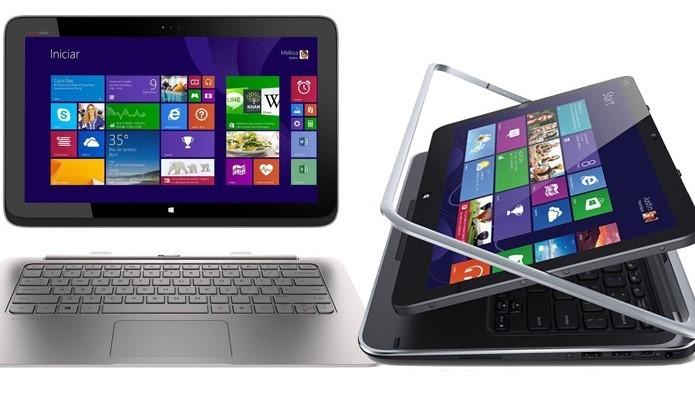Dell XPS 12 é um ultrabook com versões conversível e 2-em-1 (Foto: Divulgação/Dell)