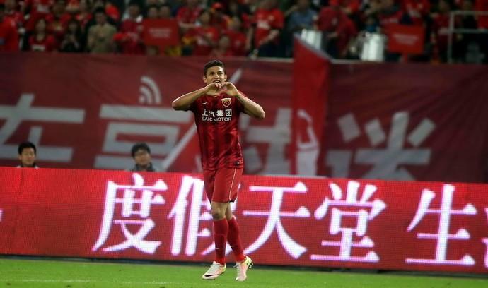 Elkeson Shanghai (Foto: Reprodução/Sina.com)