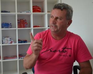 Natalzinho, diretor do Vilhena (Foto: Lauane Sena)