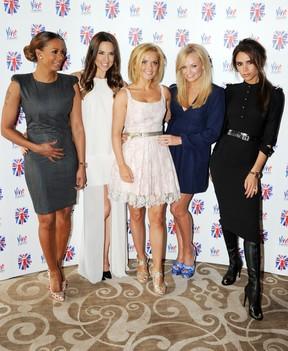 As Spice Girls se reúnem em evento em Londres (Foto: Getty Images)