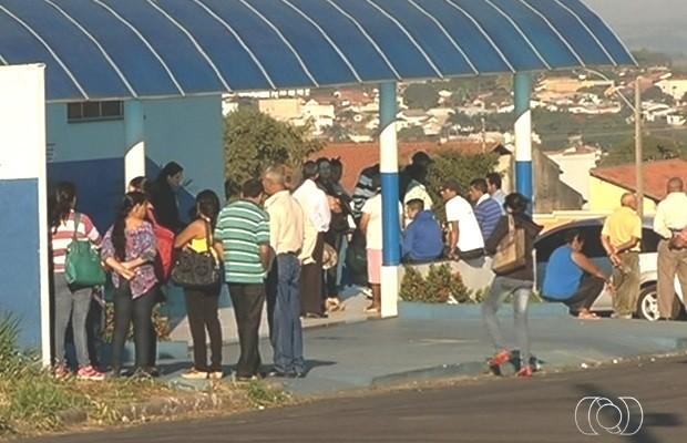 Grávida morre por suspeita de gripe H1N1 em Catalão, Goiás, diz secretaria (Foto: Reprodução/TV Anhanguera)