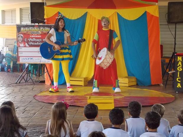Peças infantis fazem parte da programação da temporada de teatro (Foto: Divulgação/Isto)