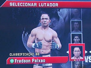 Personagem de Fredson no jogo (Foto: Reprodução EPTV / Marcelo Rodrigues)