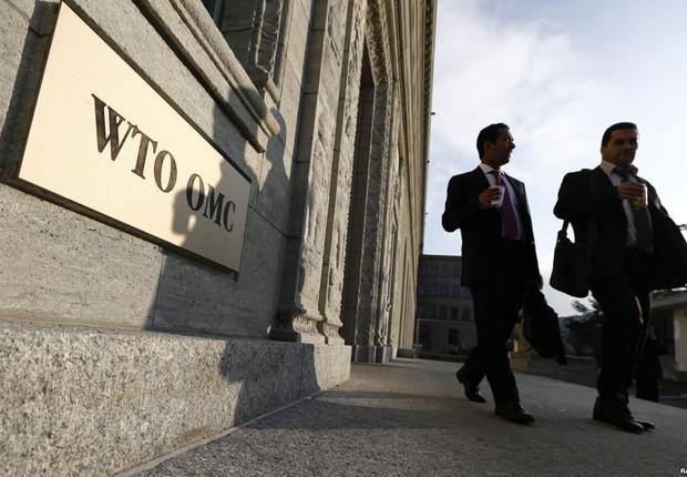 Sede da Organização Mundial do Comércio (OMC) ; World Trade Organization (WTO) (Foto: Fabrice Coffrini/Getty Images)
