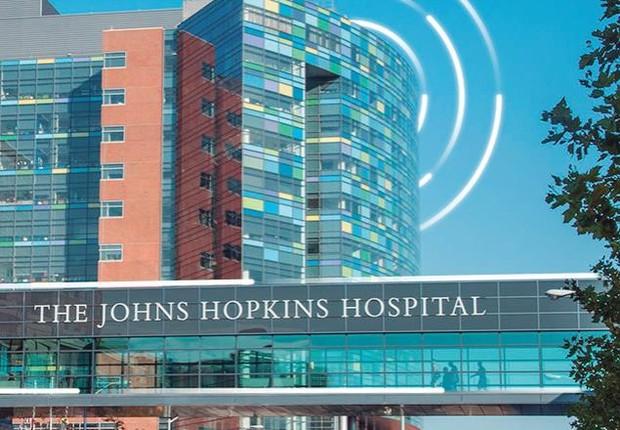 Hospital Johns Hopkins (Foto: Divulgação)