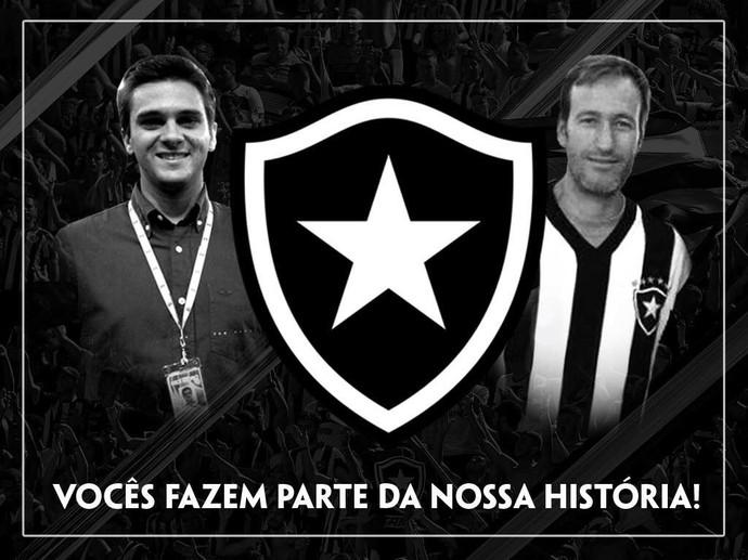 Botafogo dá nome dos jornalistas da TV Globo a duas cabines do Engenhão  (Foto: Divulgação)
