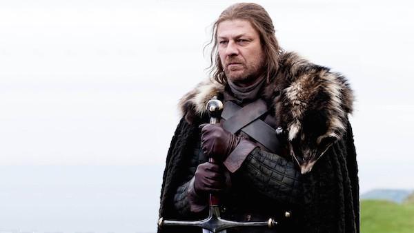 O ator Sean Bean no papel de Ned Stark em Game of Thrones (Foto: Reprodução)