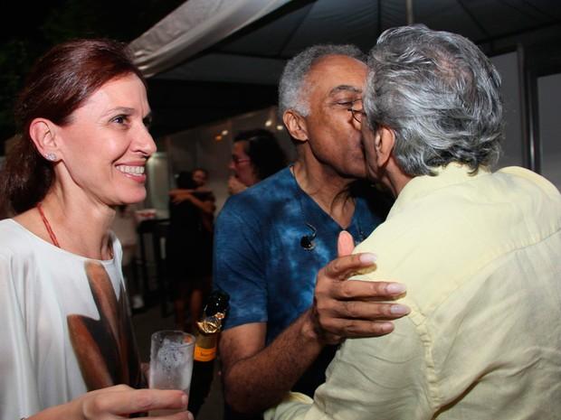 Gilberto Gil e Caetano Veloso (Foto: Joá Souza/Agecom)