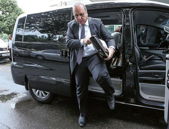 O governador do Rio, Luiz Fernando Pezão (Foto: André Coelho /Agência O Globo)