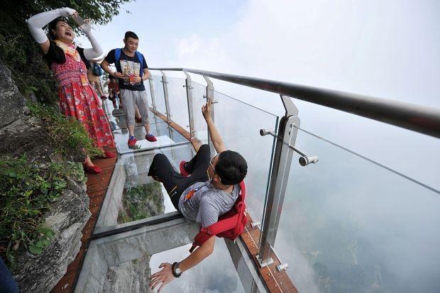Hunan's Zhangjiajie National Forest Park (Foto: VCG/VCG/Getty Images)