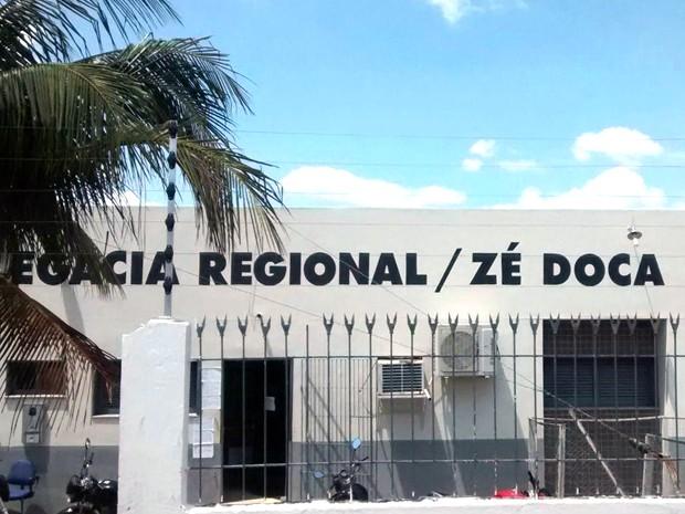 Delegacia Regional de Zé Doca (MA) (Foto: Divulgação / SSP-MA)