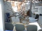 Grupo explode agência e atira contra batalhão da PM em Paratinga, na BA