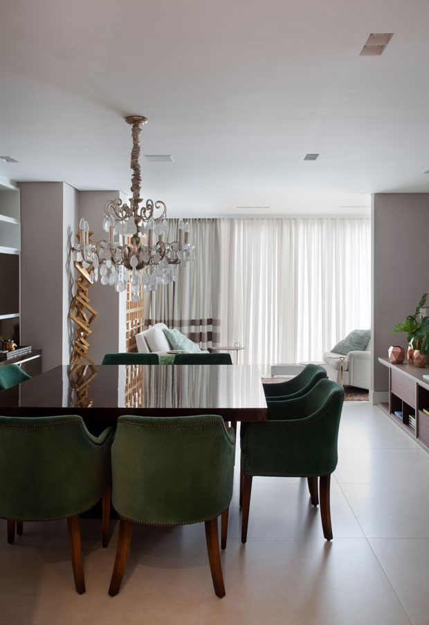 Um apartamento com jeito de casa, em Florianópolis (Foto: Marco Antonio)