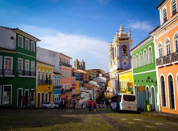 Pelourinho, Brasil (Foto: Reprodução / Facebook)