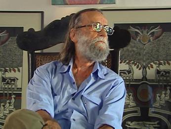 Gilvan Samico, artista plástico recifense e integrante do Movimento Armorial (Foto: Reprodução / TV Globo)