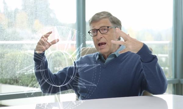 """""""Se você pudesse mudar o preço de uma coisa para melhorar a vida das pessoas, essa coisa tem que ser a energia"""" disse Gates no vídeo de divulgação do fundo (Foto: Reprodução)"""