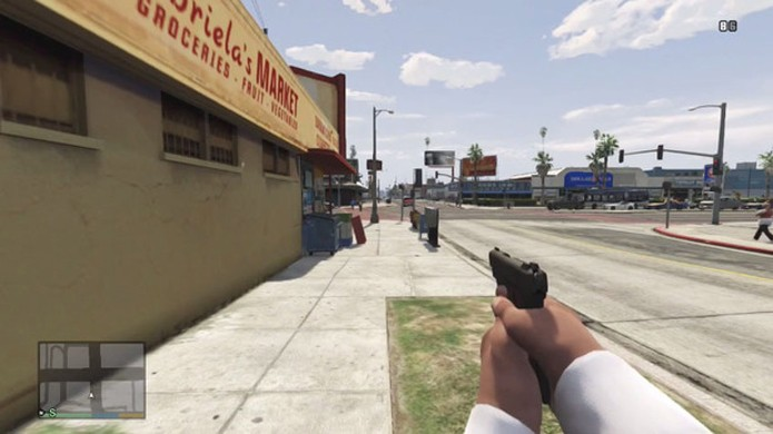Modificação que deixa GTA 5 em primeira pessoa fez bastante sucesso e pode virar oficial (Foto: Digital Spy)