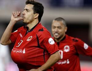 Nilmar rodrigo tabata al-rayyan gol al saad (Foto: Agência Reuters)