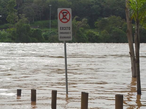 Piracicaba é uma das cidades da região que sofre com enchentes (Foto: Thomaz Fernandes/Arquivo/G1)