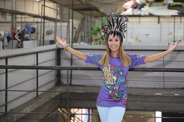 Carla Diaz será musa da Grande Rio (Foto: Rodrigo dos Anjos)