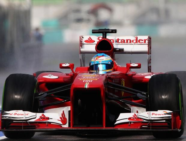 Alonso faz terceiro melhor tempo em Sepang, na Malásia (Foto: Getty Images)