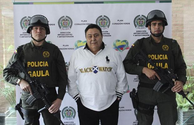 Preso neste sábado (6) na Colômbia, Roberto Pannunzi suspeito de chefiar a máfia italiana e de ser o maior importador de cocaína do mundo também era o traficante mais procurado da Europa. (Foto: Divulgação/ Reuters/Polícia Nacional da Colômbia)