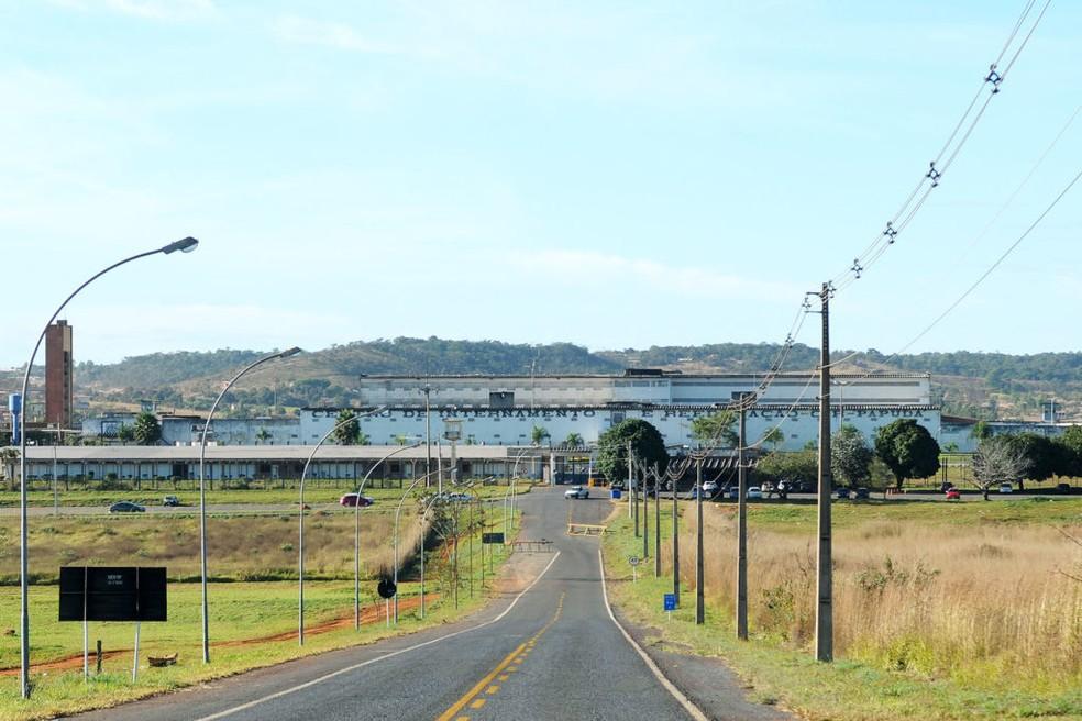 Prédio do Complexo Penitenciário da Papuda, em Brasília (Foto: Gabriel Jabur/Agência Brasília)