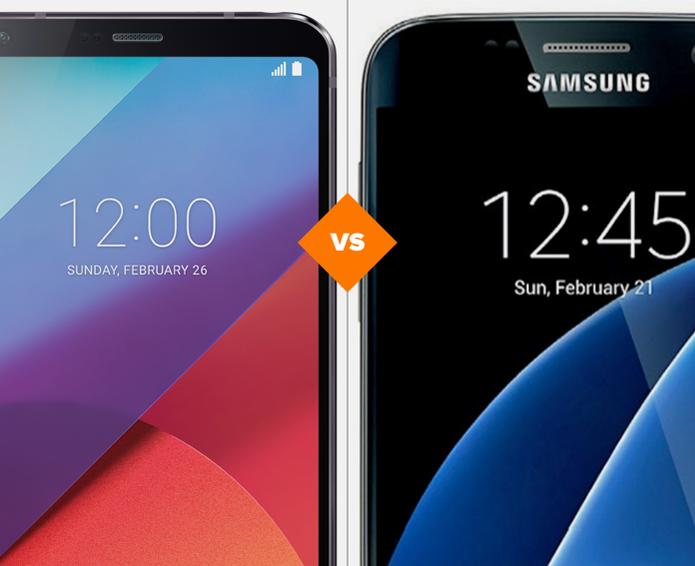 LG G6 e Galaxy S7: veja o comparativo de ficha técnica (Foto: Arte/TechTudo)