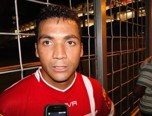 Adeílson, atacante do Tombense (Foto: Léo Simonini / Globoesporte.com)