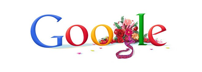 Doodle do Dia dos Namorados de 2010 (Foto: Reprodução/Google)