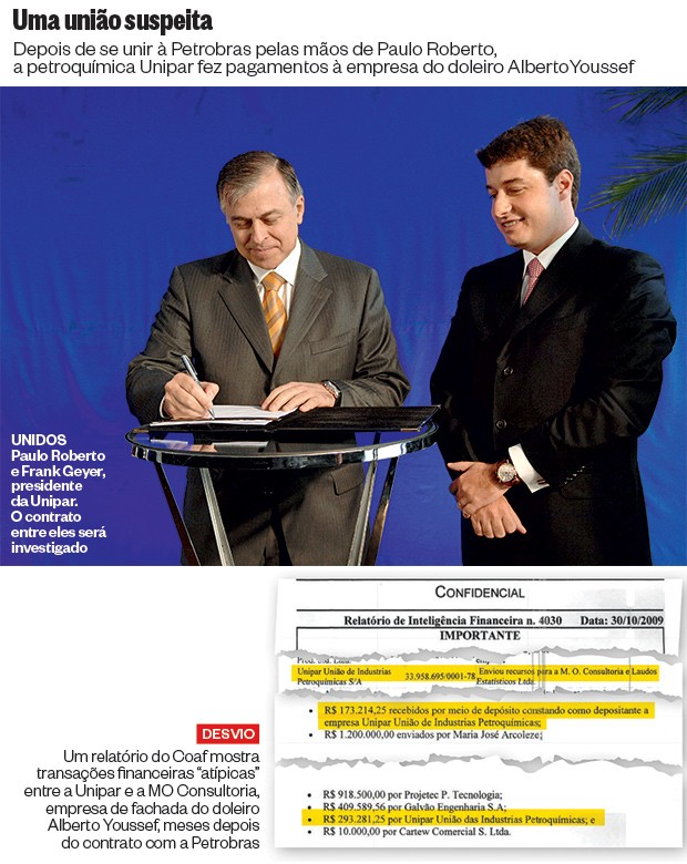 Uma união suspeita (Foto: Agência Petrobras)