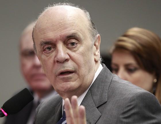 Segundo delator, dinheiro pago entre 2009 e 2010 foi pedido para a campanha de José Serra à Presidência (Foto: Jorge William/Ag O Globo)