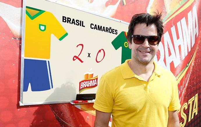 murilo benicio palpite  Brasil x Camarões (Foto: Divulgação)