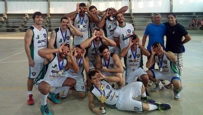 Basquete Potiguar Clube - campeão da etapa Extremoz (Foto: Divulgação)