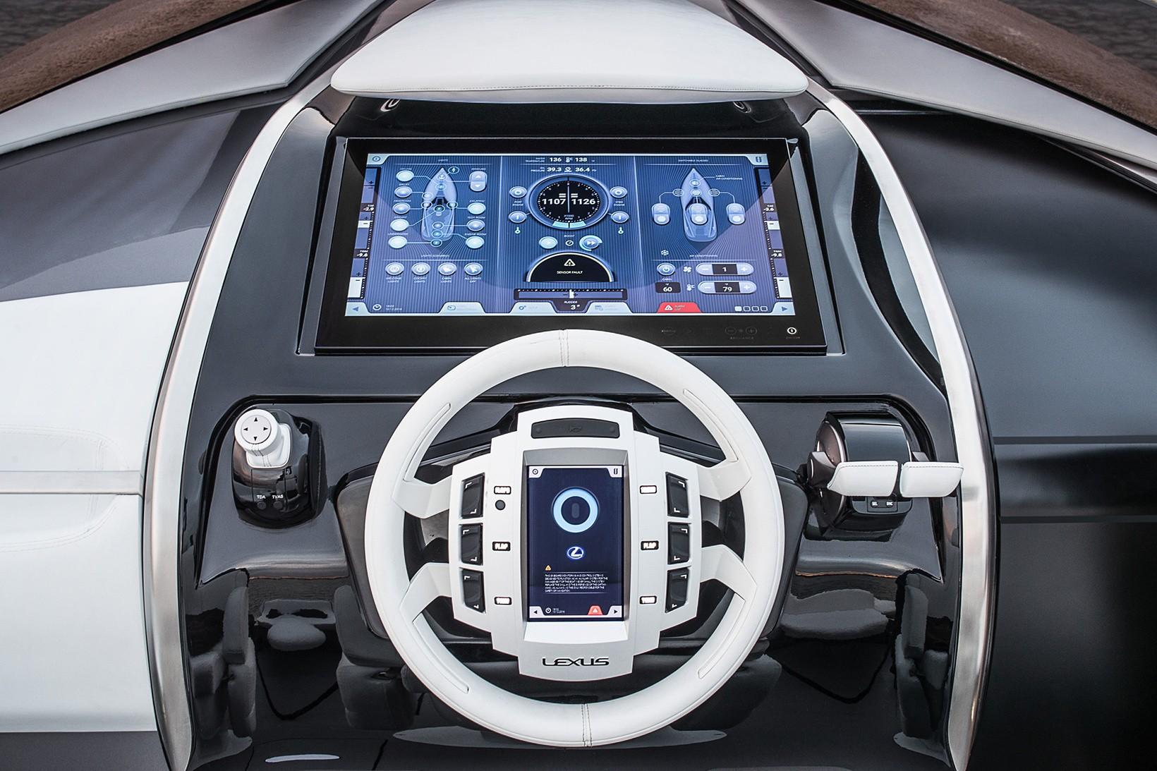 Lexus LS Sedan, o iate de luxo (Foto: Divulgação)