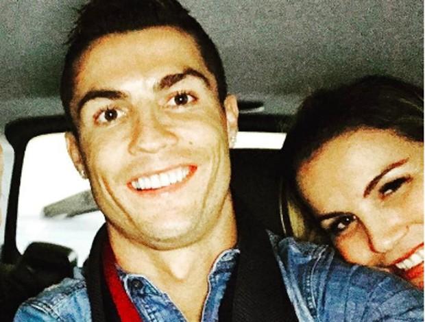 Cristiano Ronaldo e Kátia Aveiro (Foto: Reprodução/Instagram)