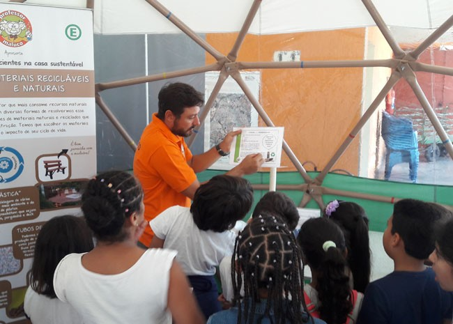 Casa Sustentável chegaà Luz