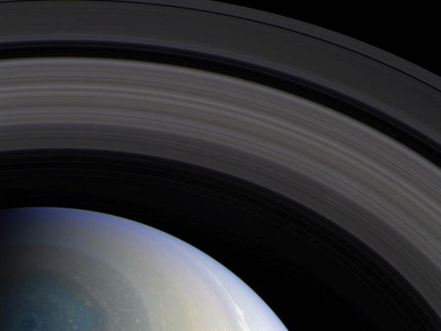 Imagem de Saturno feita pela sonda Cassini (Foto: NASA/JPL/SSI/Bill Dunford)