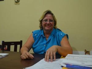 Diretora do Centro de Recuperação, Maria de Lourdes Barradas (Foto: Luana Leão/G1)