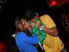Casal 'FranGo' lamenta a derrota do Brasil em jogo contra Alemanha