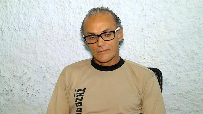 RN - Zinho ex-jogador preso CDP Ribeira Natal (Foto: Reprodução/Inter TV Cabugi)