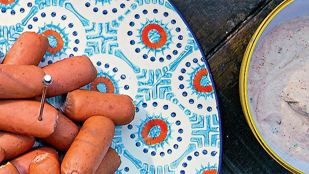 Maionese de jalapeño com páprica (Foto:  Rogério Voltan/Editora Globo)