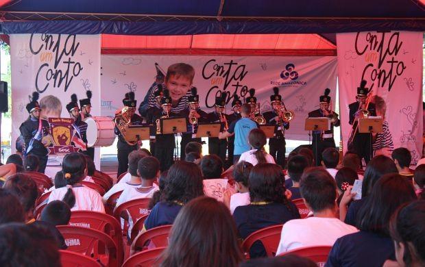 Banda de música do Sesc se apresenta (Foto: Gisa Almeida/ Rede Amazônica)