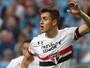 Atacante revelado na base mira novas chances após estreia no São Paulo