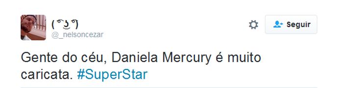 Daniela Mercury twitter (Foto: Reprodução)